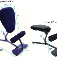 Ergonomic Chair Angle Buy Bedroom Online Healthpostures 5000 Stance Move Innovative Technical Drawing For
