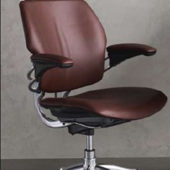 Freedom Task Chair With Headrest White Metal Dining Chairs Humanscale Ergonomic Office