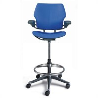 Humanscale Freedom Ergonomic Drafting Leather High Office ...