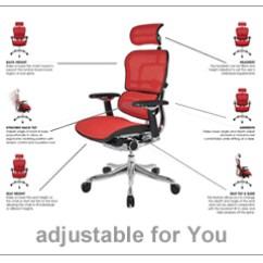 Ergonomic Chair Dimensions Teak Bar Table And Chairs Ergohuman Office Adjustments