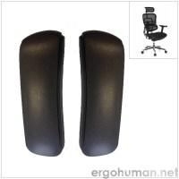 Ergohuman pair of replacement armpads
