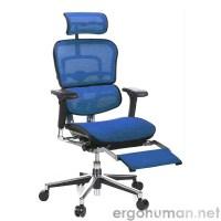 Ergohuman | Ergohuman Mesh Office Chair with Leg Rest