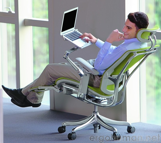 ergonomic chair with leg rest fluffy chairs for sale office