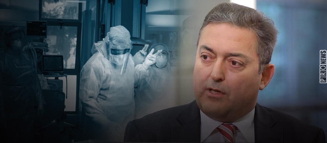 Ο Θ.Βασιλακόπουλος απαιτεί να μπαίνουν σε αναστολή εργασίας όσοι υγειονομικοί δεν θέλουν να εμβολιαστούν! (Βίντεο)