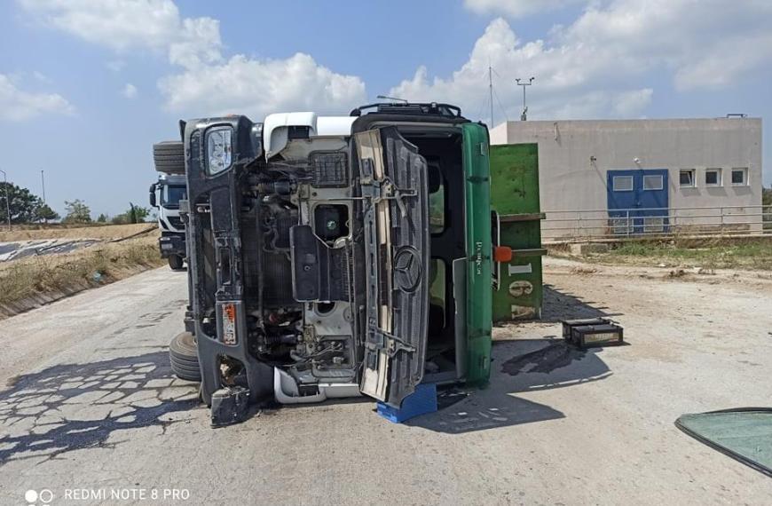 Εργατικό ατύχημα στον ΧΥΤΑ Μαυρορράχης-Τη διοίκηση Ζερβα καταγγέλλουν οι εργαζόμενοι