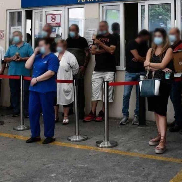 Ξέσπασμα υγειονομικών σε αναστολή: Διαμαρτυρία στον διοικητή του νοσοκομείου «Γ.Γεννηματάς» Θεσσαλονίκη (Βίντεο)