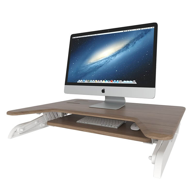 wireless charging stand up desk
