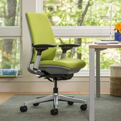 Ergonomic Chair Levers White Eames Lounge Replica Steelcase Amia Review