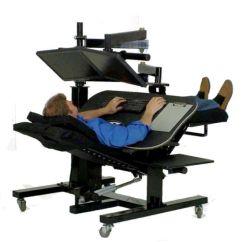Ergonomic Chair Dimensions Folding Chairs Menards Zero Gravity Workstation 1
