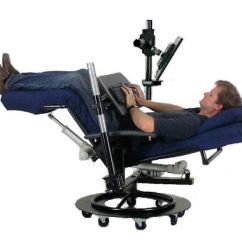 Zero Gravity Desk Chair Teak Outdoor Ergoquest Chairs And Workstations Ergonomic Reclining Desks