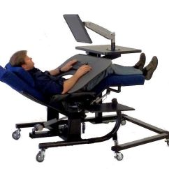 Anti Gravity Chair Table White Office Staples Ergoquest Zero Workstations Picture Workstation 9