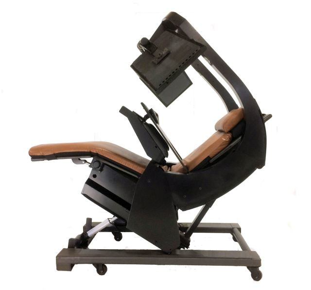 padded zero gravity chair leather chairs and ottomans workstation 1
