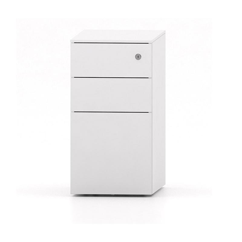 Slim Desk Mobile  Under Desk Storage  Mobile Office Drawers