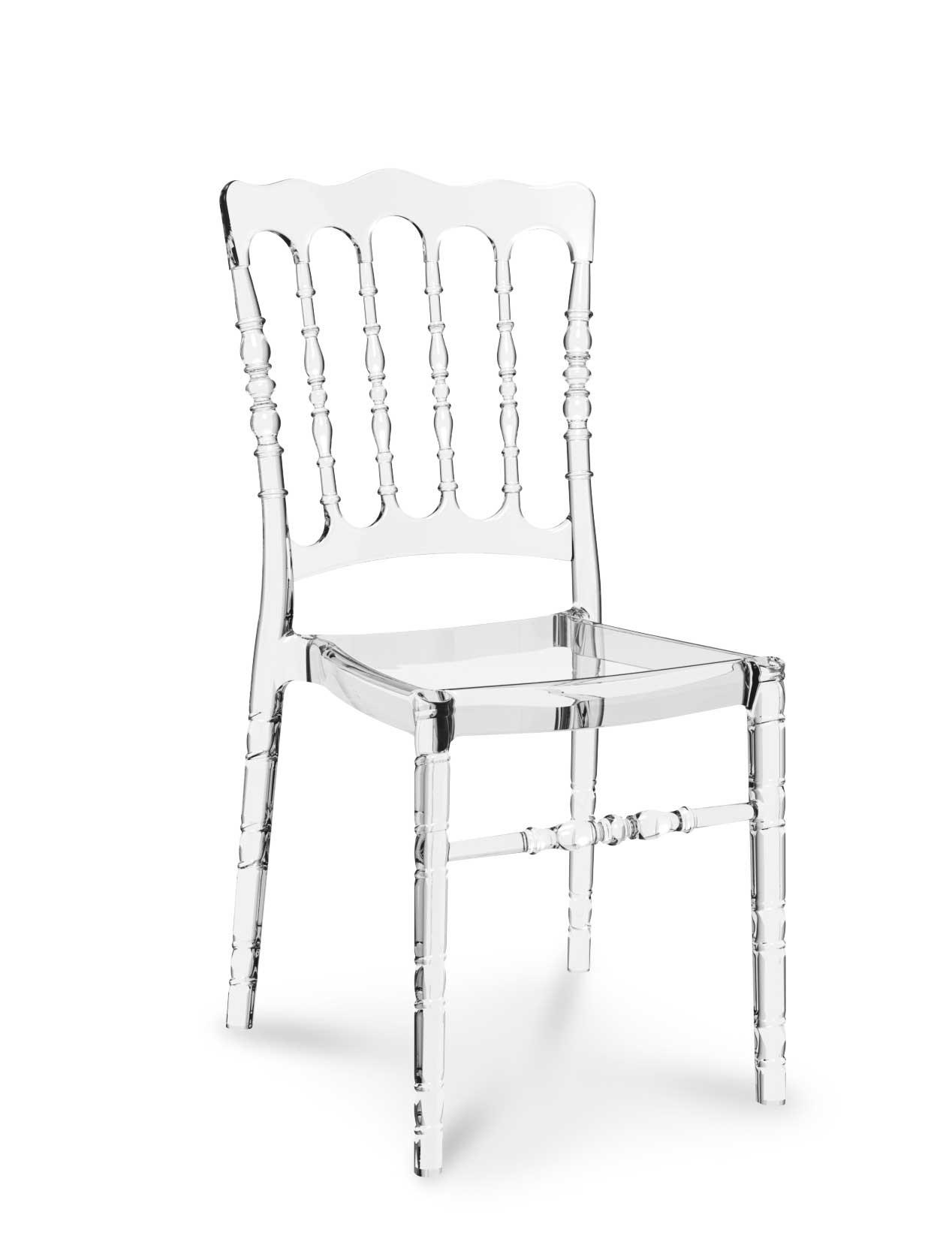 Acrylic ghost chair vintage wedding glass clear quality