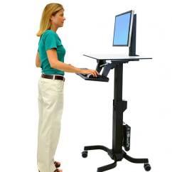 Ergonomic Chair Australia Staples Turcotte Brown Standing Desks, Monitor Mounts, Mobile Carts | Ergotron