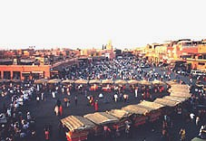 Jamâa El Fna, the heart of Marrakech