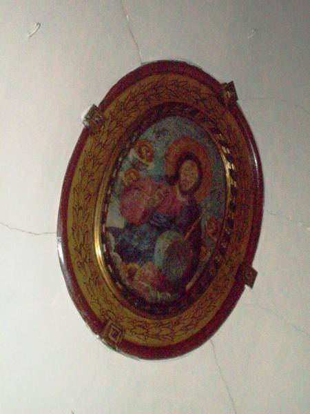 22-Edirnekapı Aya Yorgi Kilisesi Orta Nef Beşik Tonozundaki Pantokrator İsa Resmi