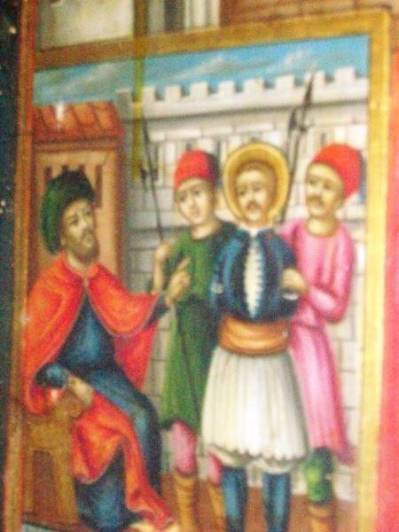 28-Edirnekapı Aya Yorgi Kilisesindeki Yanyalı Yeniz Aziz Georgiosun Türkler Tarfından yargılanması