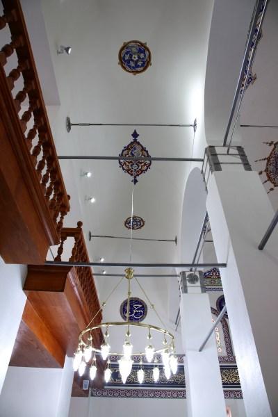 Restorasyon sonrası, camide yapılan güçlendirmeler fotoğraf 12