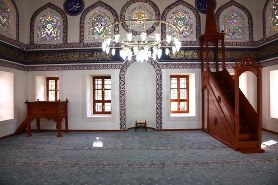 Restorasyon sonrasında mihrap,minber ve vaaz kürsüsü (fotoğraf 7)