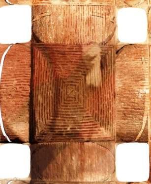 Resim 9 Yerebatan Sarayının tonozların biri