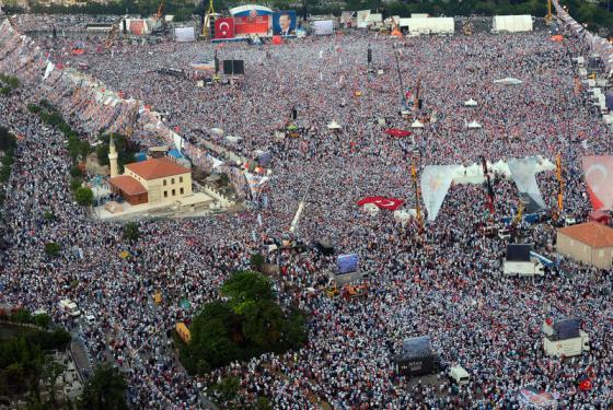 Halkımızın Camii Açılışına gösterdiği teveccüh :))