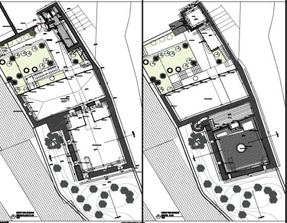 Zemin Kat Planı –Eklenmesi önerilen Erkek tuvaletleri  ve abdesthane (Şekil 11)