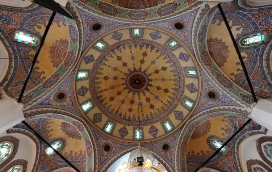 Molla Çelebi Camii yarım kubbeler