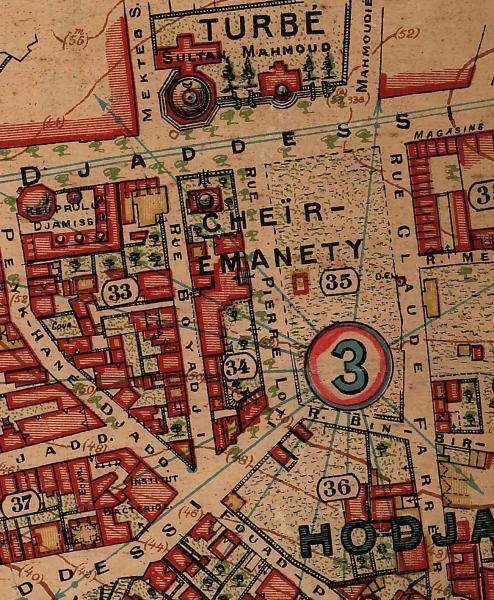 Pervititch Haritası
