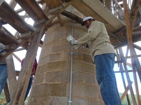 Minare gövdesinde derz yapımı (fotoğraf 16)