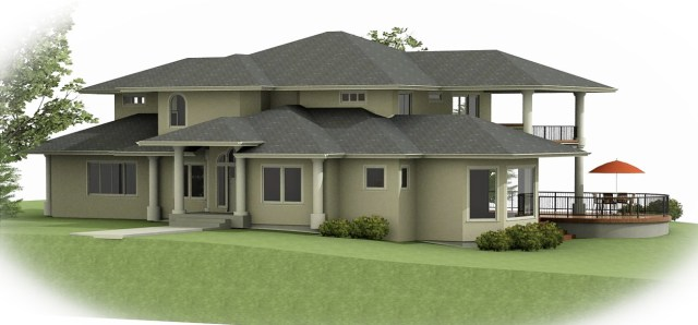 3D design rendering by Hoff Design Build