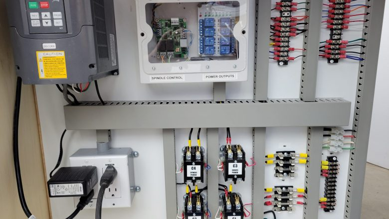 New Power Panel for CNC mill/table machine