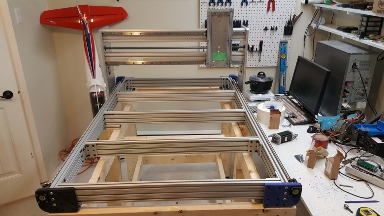 Frame assembly & wooden under frame