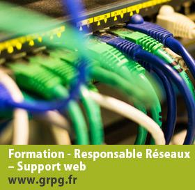 Formation : Responsable réseaux - support web