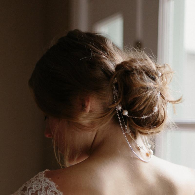 bridal hair accessories, wedding hair chain, wedding accessories, bridal hair