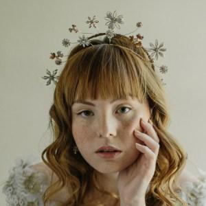Erica Elizabeth boho Bridal crown