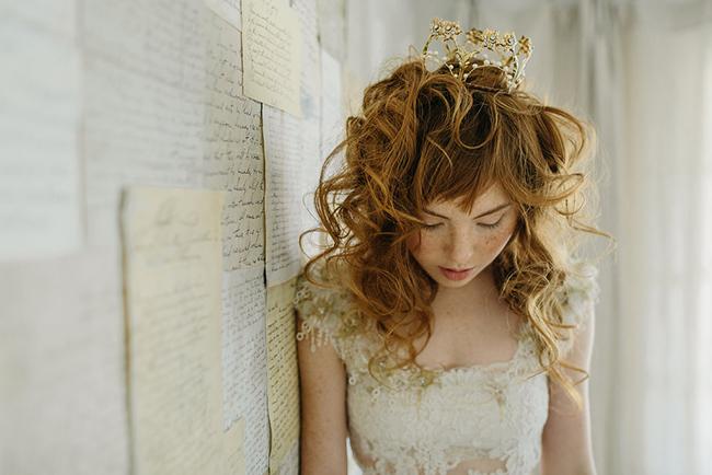 Hearts desire wedding crown