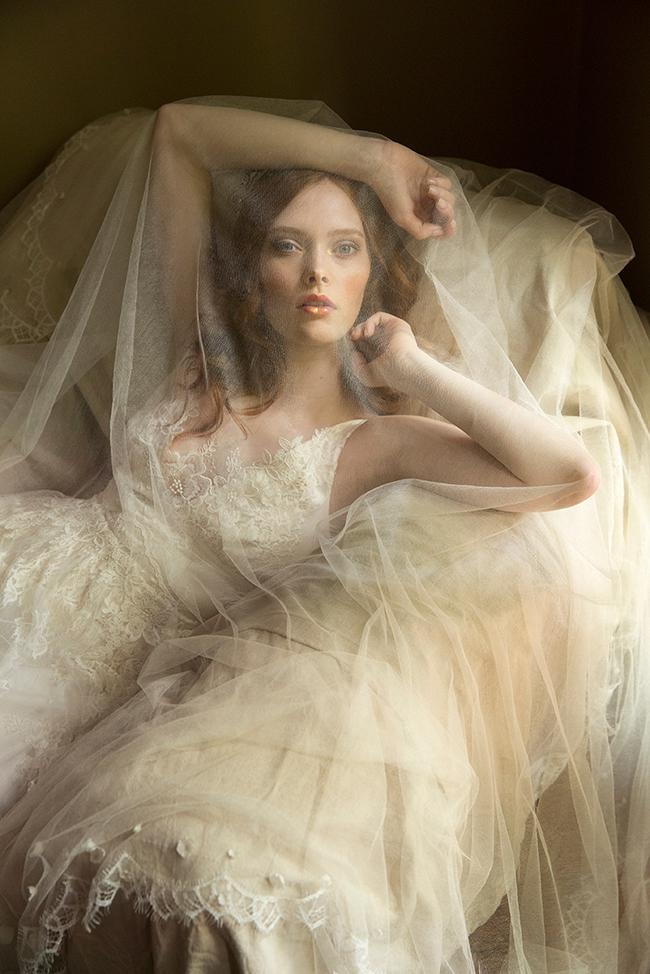 Erica Elizabeth Designs wedding veil