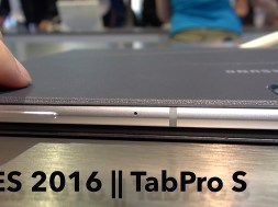 Galaxy TabPro S: A Success or Knock Off? || CES 2016