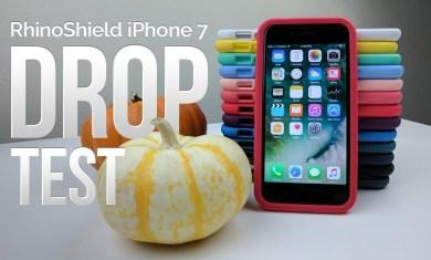OFF the ROOF! iPhone 7 Drop Test (RhinoShield CrashGuard) + Giveaway