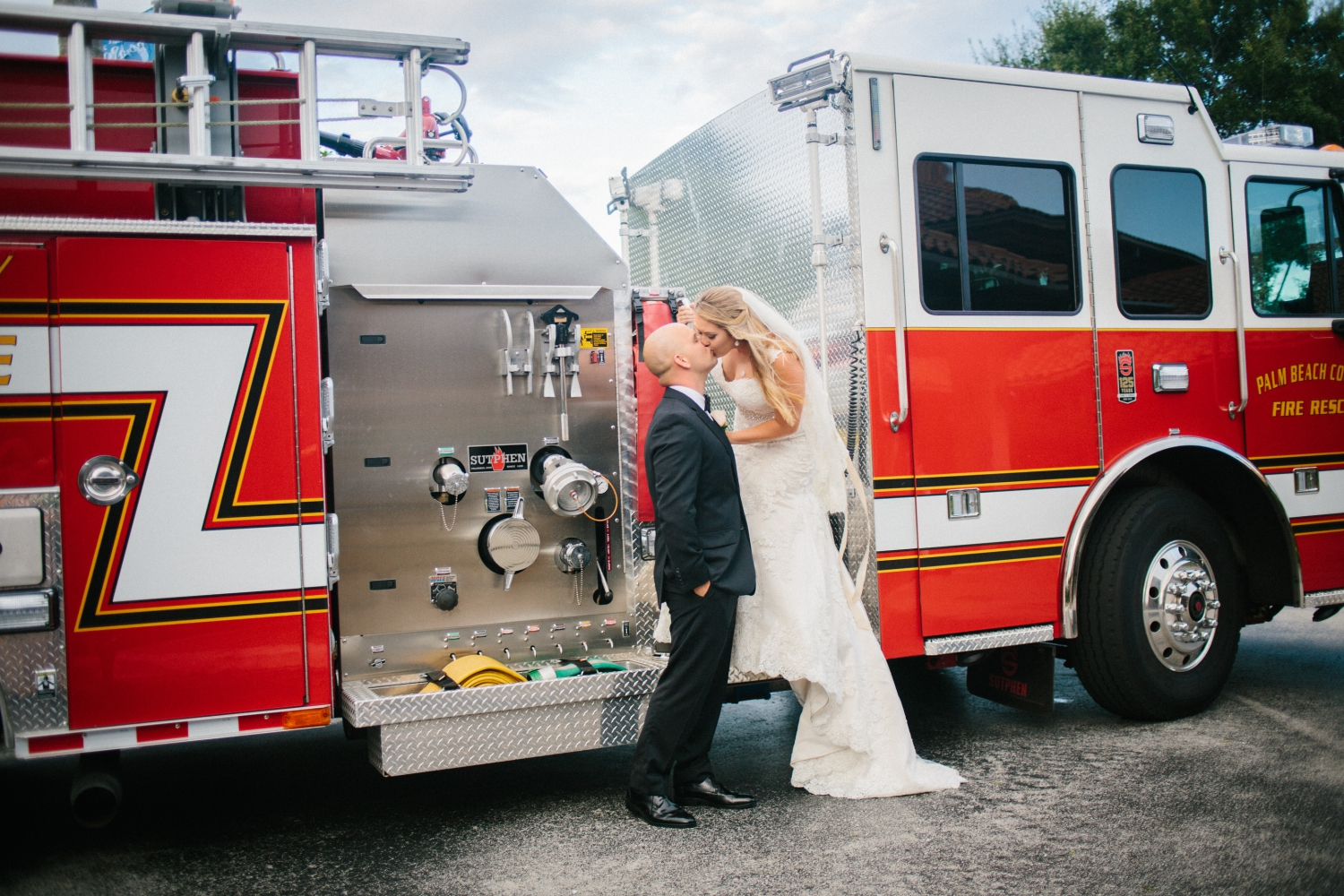 firefighter wedding south florida