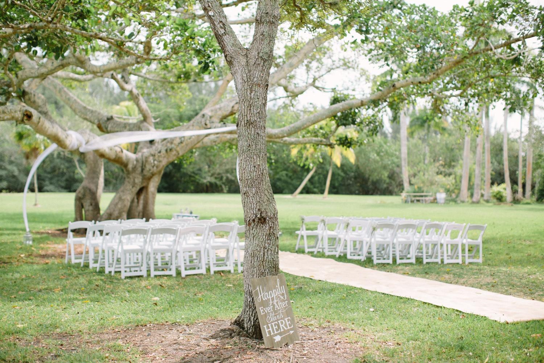 miami garden wedding