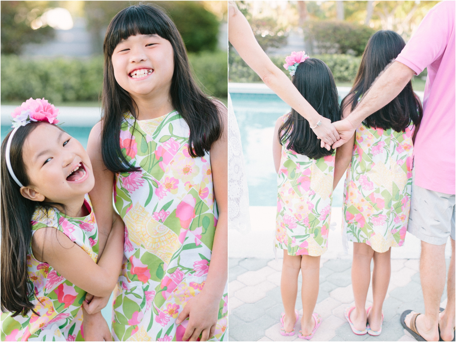 spring family portraits in south florida