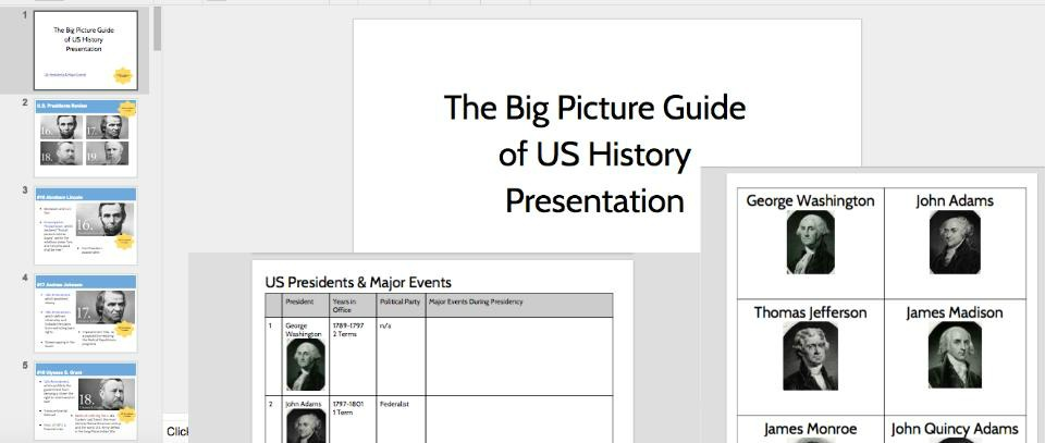 Big Picture History Guide
