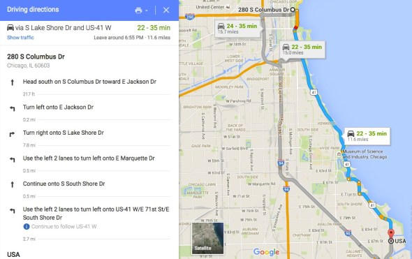 How to Get to Calumet via Driving