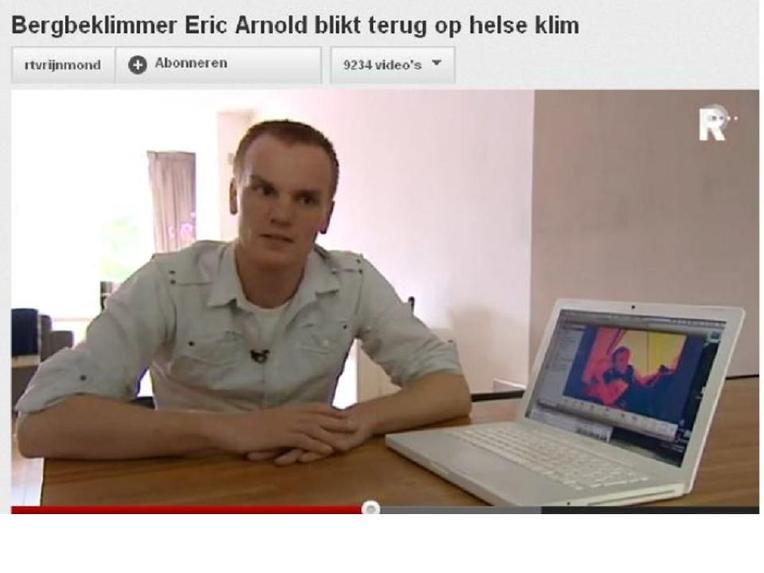 Bergbeklimmer Eric Arnold blikt terug op helse klim