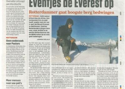 AD – Eventjes de Everest op