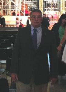 Dad at his 50th high school reunion in 2014.