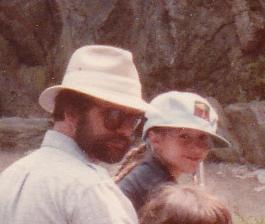 Dad and I at the zoo (likely the Bronx Zoo) circa 1984.