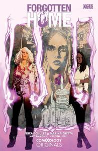 Forgotten Home Trade Paperback Collected Edition. Every issue of Forgotten Home collected with an amazing look at the making of the story. Cover by Bill Sienkiewicz.